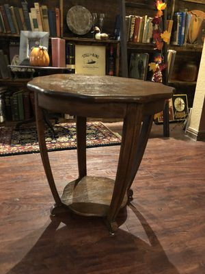 Cute little antique vintage small wooden table. 25.00. 212 North Main Street. Buda. Please text to be sure it's still available furniture collectible for Sale in Austin, TX