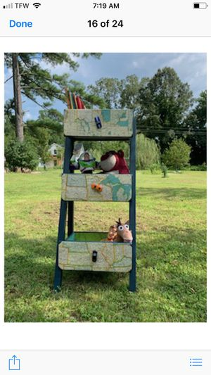 Boys toy bin are book shelve for Sale in Pamplin, VA