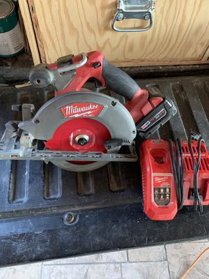Milwaukee m18 circular saw for Sale in Vista, CA