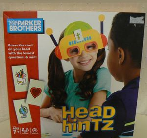 Head Hintz Game (Kids Version Of HedBanz) Guess the card on your head Parker Bro for Sale in Hart, MI