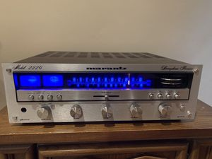 Marantz 2226 Stereophonic Receiver-Tested and Works Great-New LED Lights! for Sale in Beverly Hills, CA