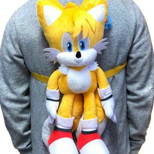 Brand NEW! Tails Sonic The Hedgehog Novelty Plush Backpack Zippered Pouch For Everyday Use/Parties/Gaming/Toys/Birthday Gifts for Sale in Carson, CA