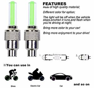 Valve stem lights for rims for Sale in San Antonio, TX
