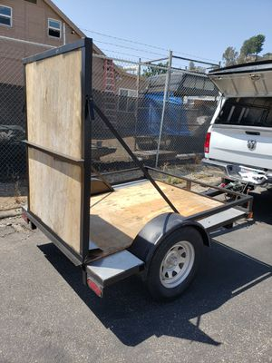 Utility trailer 6' x 5.5' for Sale in Santee, CA
