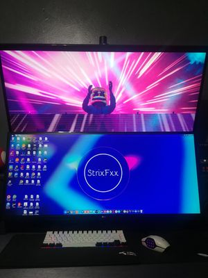 Two LG 34 Ultrawide Monitors with vertical desk mount for Sale in UNIVERSITY PA, MD