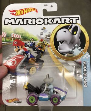 Super Mario Kart Dry Bones Hot Wheels Brand New and Sealed for Sale in Los Angeles, CA