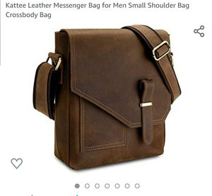 Leather messenger bag CLEARANCE for Sale in Virginia Beach, VA