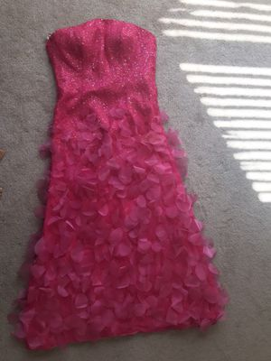 Hot Pink Prom Dress/ Size 2-4 for Sale in Melbourne, FL