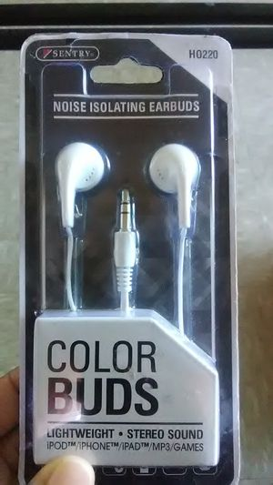 Noise isolating earbuds for Sale in Chesapeake, VA