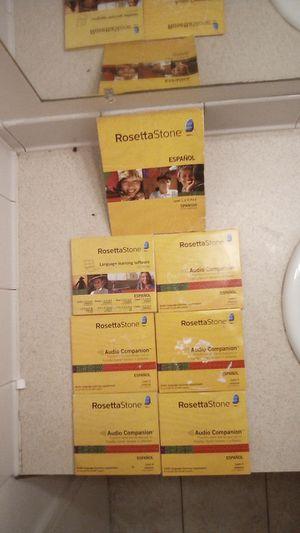 Rosetta Stone Español levels 1,2,3,4&5 Spanish Latin America for Sale in Riverdale, GA