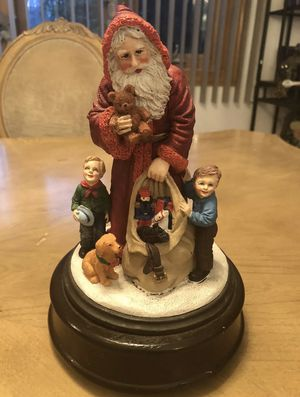 Vintage Santa Figure Statue Children and Toys and Dog Christmas 🎄 ☃️ ❄️ 🎅 for Sale in Struthers, OH
