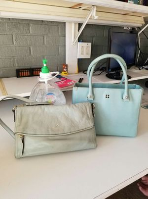 Authentic Kate Spade purse and crossbody purse bundle (used) for Sale in Lincoln Acres, CA