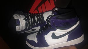 Jordan 1 court purple 2.0 size 12.5 for Sale in Palatine, IL