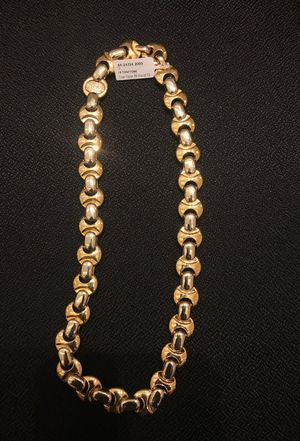 18k tow tone chain for Sale in Fairfax, VA