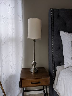 """Two 38"""" side lamps for Sale in Charlotte, NC"""