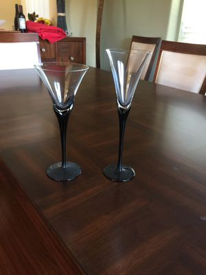 Mikasa crystal glasses for Sale in Pala, CA