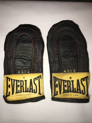 Vintage Everlast 4312 Weighted Sparring Gloves Speed Bag Training Made In USA for Sale in Euclid, OH