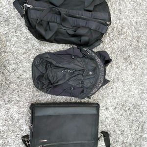 2 Lululemon Bags + 1 Samsonite Travel Bag for Sale in Kirkland, WA