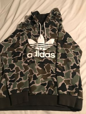 Adidas Camo Hoodie for Sale in Houston, TX