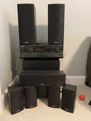 Onkyo HT-R580 7.1 Surround Sound Stereo for Sale in Woodstock, GA