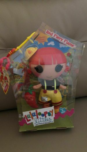 Lalaloopsy Littles Red Fiery Flame Doll. Retired. Retails $63 for Sale in Hillsboro, OR
