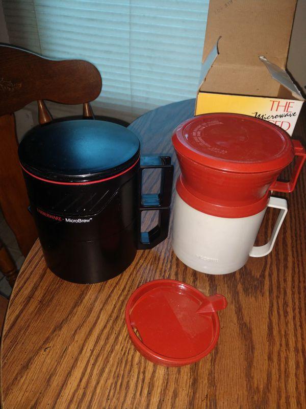 Microwave coffee and tea maker