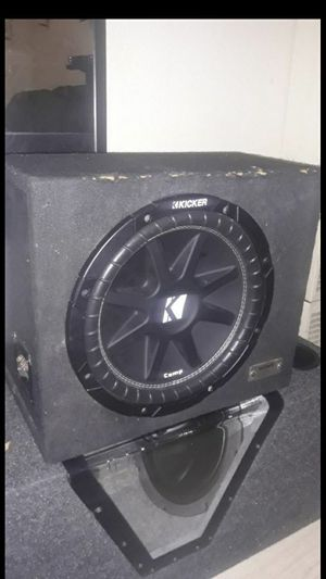 New 12in kicker in sealed box sounds good can test for u for Sale in Anaheim, CA