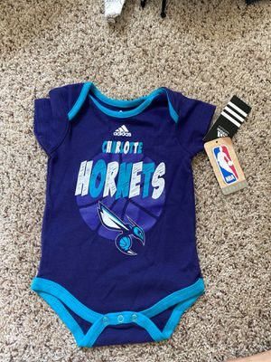 NBA Charlotte Hornets onesie for Sale in Atwater, CA