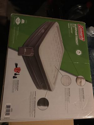 Air mattress Queen Support rest plus for Sale in Woodland Hills, CA