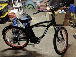 Electric Bike 24v Beach Cruiser Bicycle for Sale in Lacey, WA