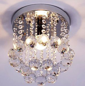 Crystal Chandeliers Ceiling Light Fixture Ceiling Lamp for Hallway Dining Room Kitchen Modern Decor for Sale in Toledo, OH