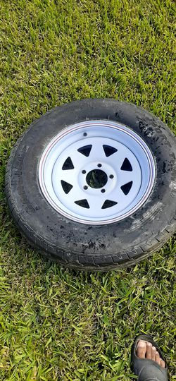 Trailer rim and tire for Sale in Winter Garden,  FL