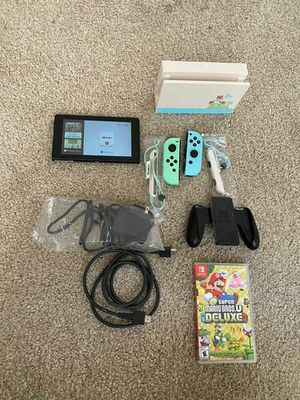 BRAND NEW Nintendo Switch Animal Crossing New Horizons Edition Bundle + 1 Game for Sale in Los Angeles, CA