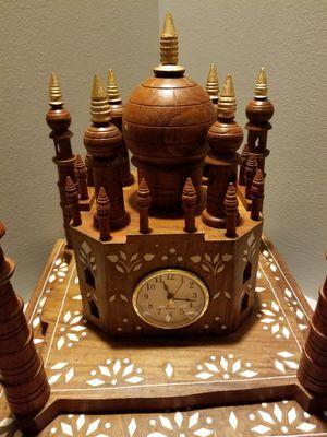 Hand carved Taj Mahal (wood) for Sale in Vienna, VA