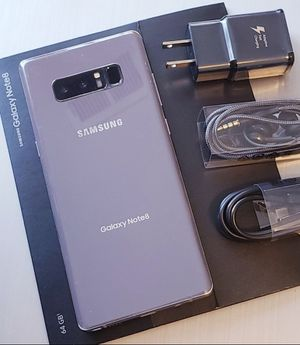 Samsung Galaxy Note 8 , Unlocked for All Company Carrier,  Excellent Condition like New for Sale in Springfield, VA