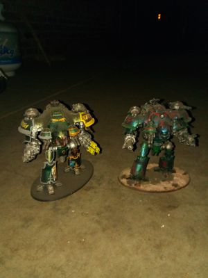2 knights valiant And Castallan 40k Warhammer for Sale in Covina, CA