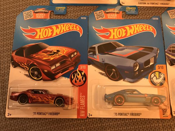 Hot Wheels Pontiac lot