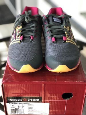 Reebok crossfit nano speed size 5 for Sale in Discovery Bay, CA