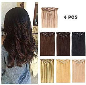 Clip Hair Extensions Human Hair 14 clip for Sale in Stockton, CA