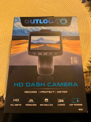Outlook HD DASH CAMERA for Sale in Valrico, FL