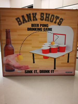 Bank shots beer pong drinking game for Sale in New York, NY