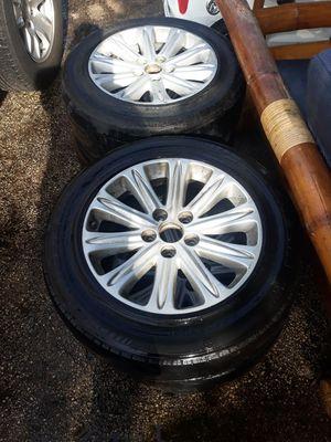 Honda rims and tires for Sale in Pembroke Pines, FL