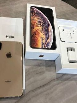 iPhone XS Max, 256GB, Gold - Unlocked for Sale in Round Rock,  TX