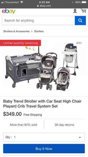 Baby trend for Sale in Selma, CA