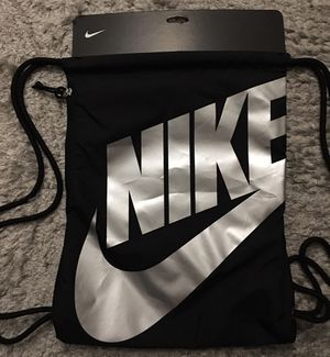 New Nike Black Sackpack Backpack Gym Bag for Sale in Chicago, IL
