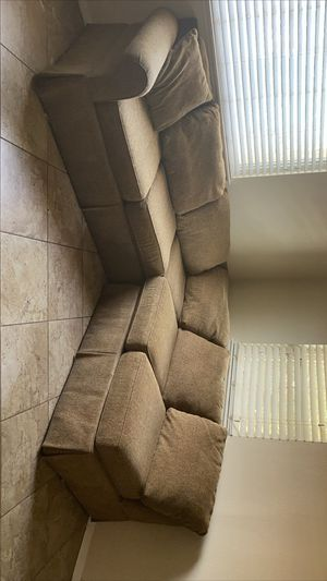 Sectional sofa brown for Sale in Bakersfield, CA