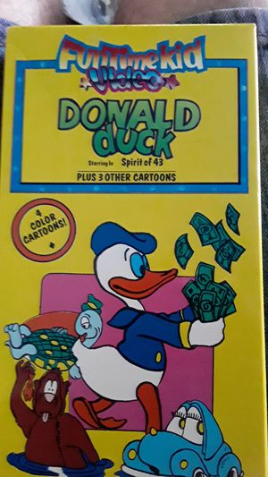 Donald Duck plus more cartoons for Sale in Hudson, FL