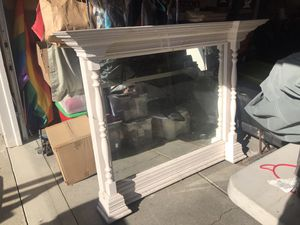 Antique /vintage mantle with mirror for Sale in Fremont, CA