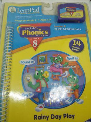 New LeapPad phonics program lesson 8 for Sale in Mount Pleasant, TN