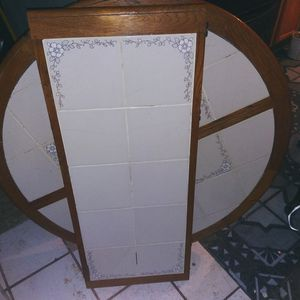 Nice Wood kitchen table with tile top for Sale in Salt Lake City, UT